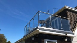bespoke glass balustrade