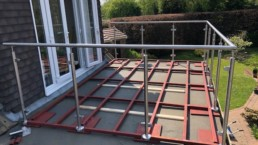 stainless steel structure