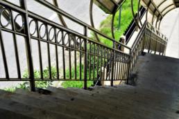 Bespoke Metal Stairs