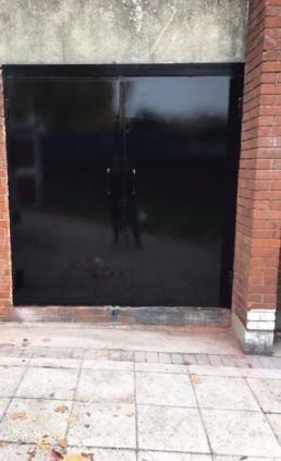 steel door essex