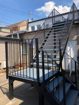 Steel Staircases Essex