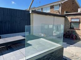 Bespoke Glass Balustrade in Rochford